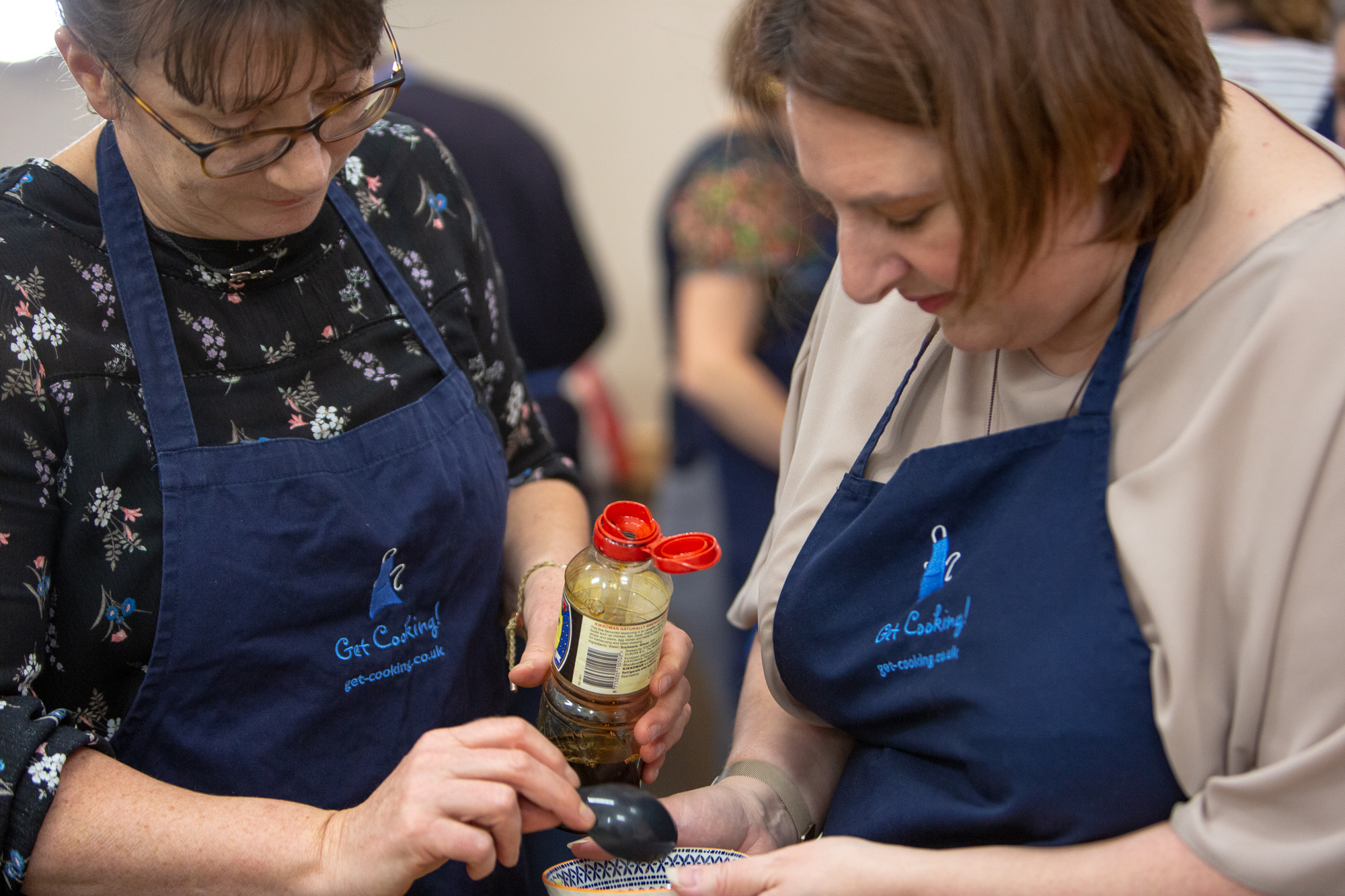 online and offline team building cooking events