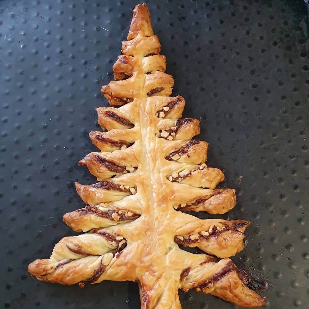 puff pastry dessert for Christmas