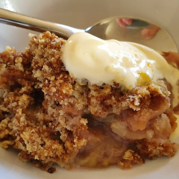 how to make a fruit crumble