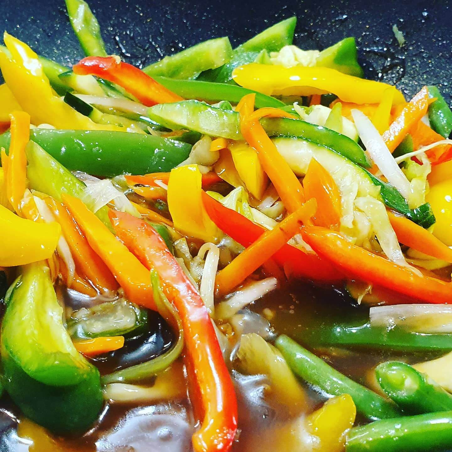 sweet and sour veg