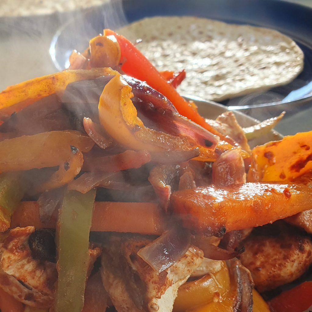 learn how to make vegetable fajitas