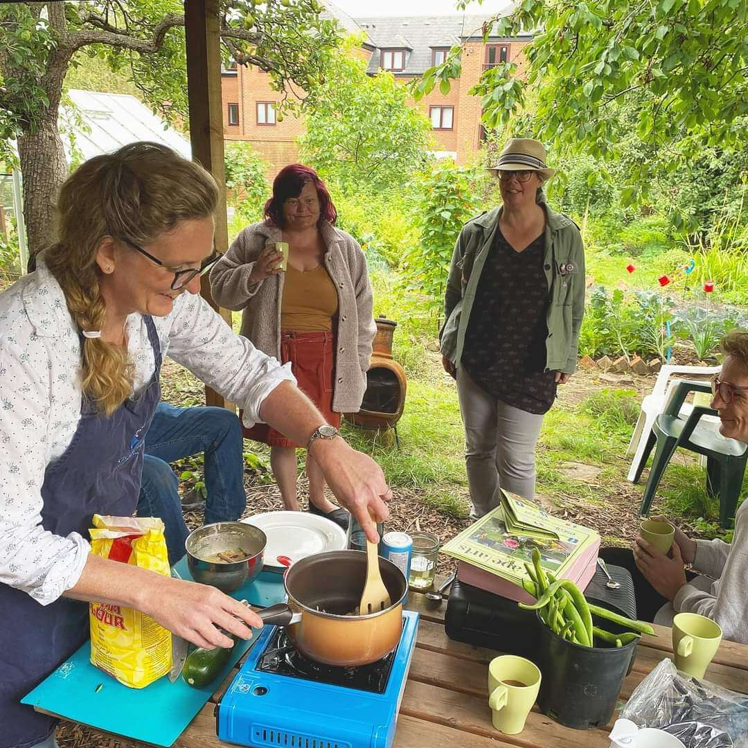 allotment cooking